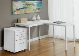 desk with file drawer stunning white desk with file drawers modern white l shaped corner