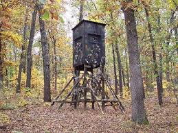 Elevated Bow Hunting Blinds Any Ideas To Anchor My Stand Huntingnet Com Forums