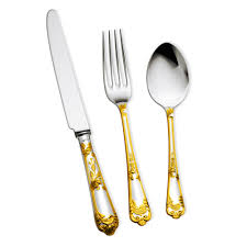decorating gold flatware gold plated flatware