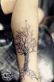 pretty black tree tattoomagz