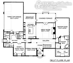 2 story house plans 2600 square feet