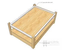 train table plans ana white build a mom s train table free and easy diy project