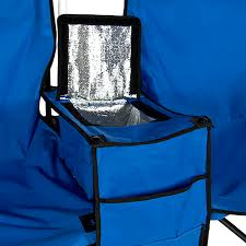 Folding Chair With Canopy Top by Picnic Double Folding Chair W Umbrella Table Cooler Fold Up Beach