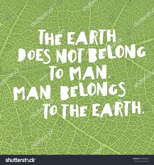 earth day quotes inspirational the earth stock vector 398593849
