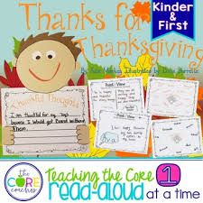 thanks for thanksgiving interactive read aloud lesson plans tpt
