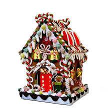 kurt adler lighted gingerbread house j3588