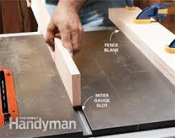 miter cuts on table saw table saw jigs build a table saw sled family handyman