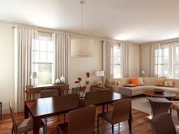 simple dining room simple combination living and dining room ideas with deep brown