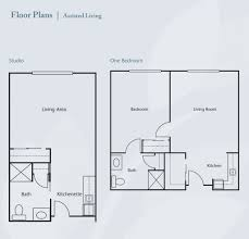 assisted living home floor plans valley view senior living