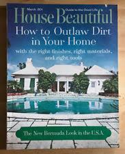 housebeautiful magazine house beautiful magazine back issues ebay