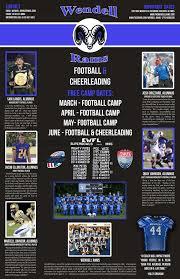 Flag Football Raleigh Nc Wendell Rams