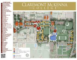 Bc Campus Map Cmc Campus Maps Claremont Mckenna College