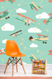 Best Childrens Room Wallpaper Ideas Images On Pinterest - Kid room wallpaper