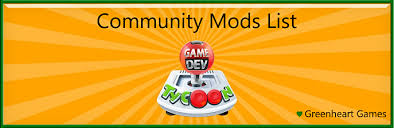 game dev tycoon info stats mod bug official mod list greenheart games forum