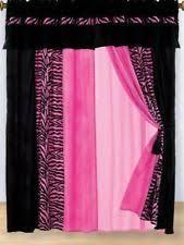 Zebra Print Curtain Panels Zebra Curtains Ebay