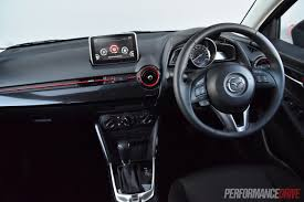 volkswagen sedan interior 2015 mazda2 maxx sedan review video performancedrive