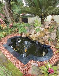 Making A Backyard Pond Making A Small Garden Cool Small Koi Pond Steps To Install A