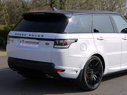 white range rover used land rover range rover sport 3 0 sdv6 autobiography dynamic