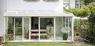 Outdoor Glass Room - bespoke glass annexes by finstral