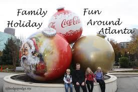 family holiday fun around atlanta hodgepodge