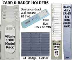 alltime alltime card racks pocket wall mount card holders