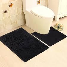 Bathroom Contour Rug Vdomus Microfiber Bathroom Contour Rugs Combo Set Of 2 Soft