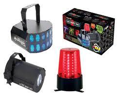 american dj led lights american dj led party pak 2 led light system dj package amazon co