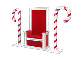 santa chair rental santa chair and candy canes stuart event rentals