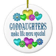for goddaughter ornaments keepsake ornaments zazzle