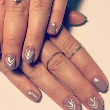43 simple nail designs with lines nailspics