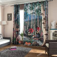 aliexpress com buy carton child kids 3d curtains blackout