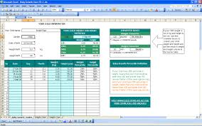 Excel Spreadsheet Development Baby Growth Chart Excel Templates