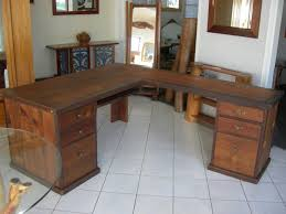 cool home office desk rustic wood office desk neo large computer home office desk solid