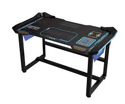 gaming computer desk for sale e blue gaming table wireless control glowing color change light for
