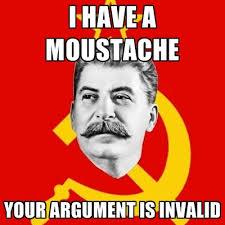 Meme Moustache - i have a moustache your argument is invalid create meme