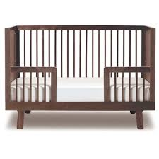 Convertible Crib Toddler Bed Sparrow Crib Toddler Bed Conversion Kit In Walnut And Luxury Baby
