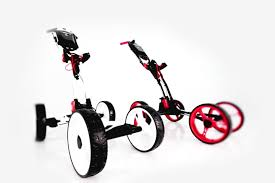 easypal electric auto folding golf push cart by golferpal youtube