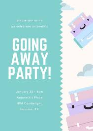 going away party invitations going away party invite christmanista
