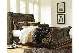 ashley furniture platform bedroom set incredible king sleigh bed with valraven ashley furniture homestore