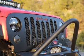 black jeep 2016 jeep wrangler 2007 2016 rcjk grille replacement satin black