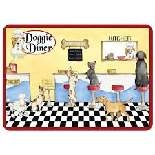 bungalow flooring doggie dinner 22 in x 31 in polyester surface