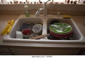Dirty Kitchen Sink Stock Photos  Dirty Kitchen Sink Stock Images - Dirty kitchen sink