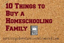 10 things to buy a homeschooling family