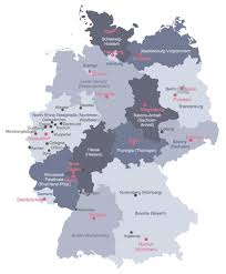 map western europe cities map of germany with cities germany cities map western