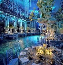 underwater corporate event wedding reception