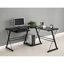 Bestar Corner Desk Bestar Hampton Corner Computer Desk Sand Granite U0026 Charcoal