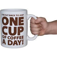 64 oz ceramic coffee mug u2014 helps cut back on cups of coffee www