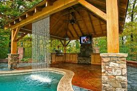 outdoor kitchen pavilion designs kitchen spring ideas backyard