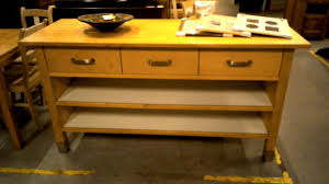billot ikea best beautiful ilot central ikea en bois with cuisine