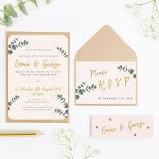 Wedding Invitation Bundles Wedding Invitations And Stationery Notonthehighstreet Com